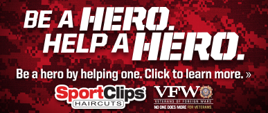 Sport Clips Haircuts of East Memphis​ Help a Hero Campaign